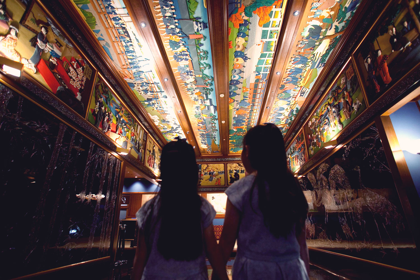 [ホテル雅叙園東京] 親子で楽しめるアートツアー