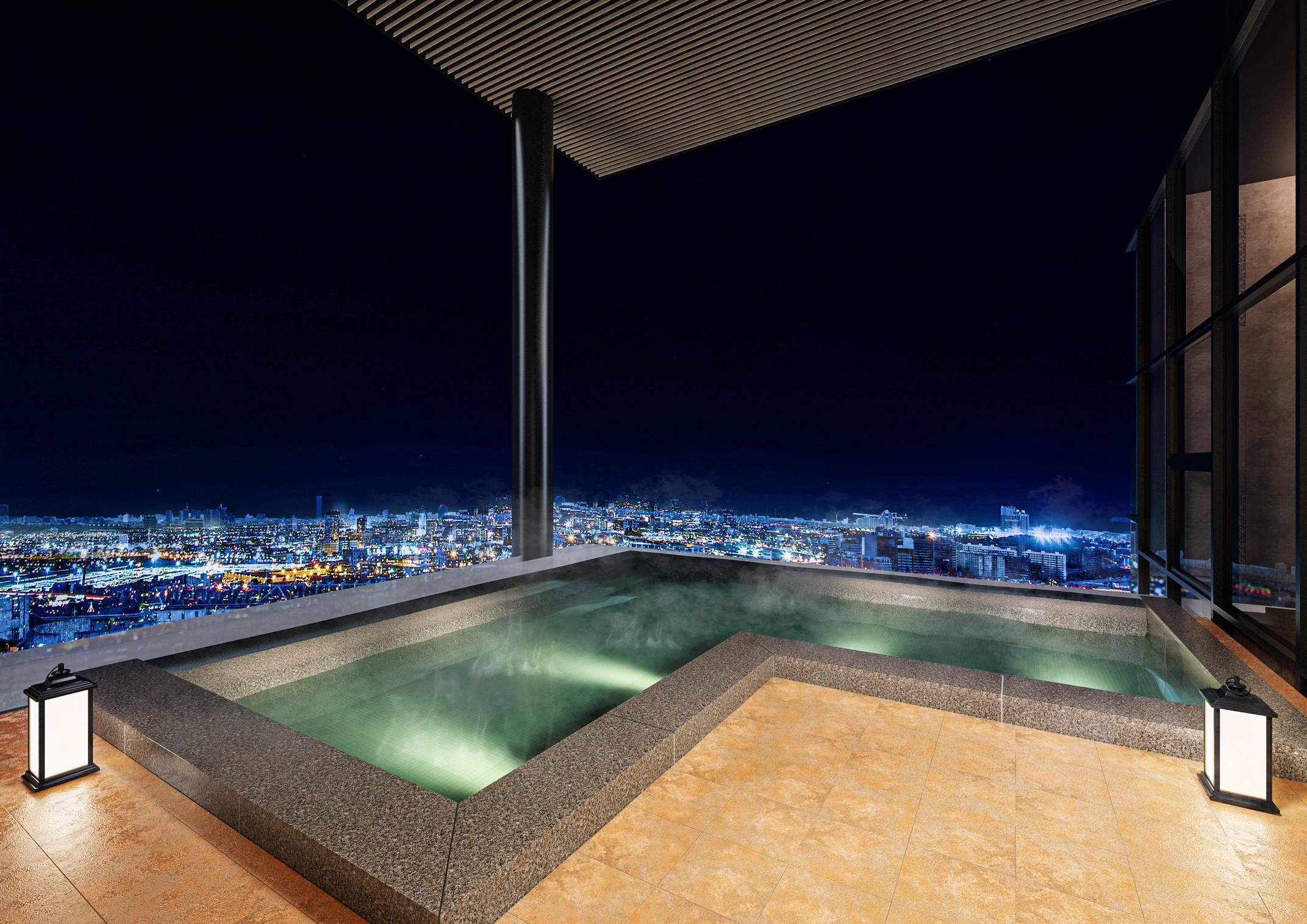 「カンデオホテルズ大阪堂島浜」が2024年夏開業 《地上135m「天空のスカイスパ」》 (大阪)