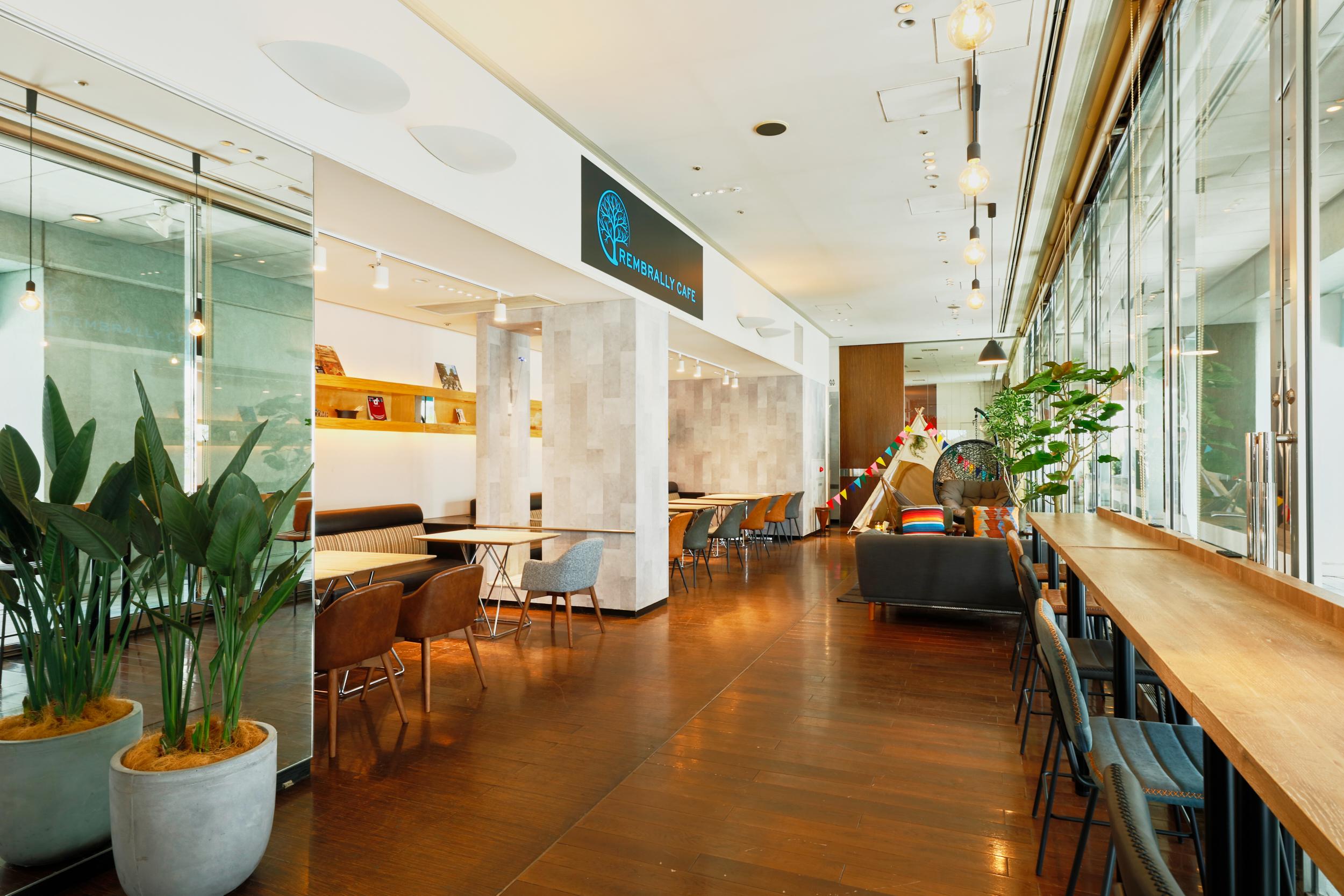 海老名でテレワークなら!非対面接客型の時間制カフェ「レンブラリーカフェ」を体験取材してきた(レンブラントホテル 海老名)