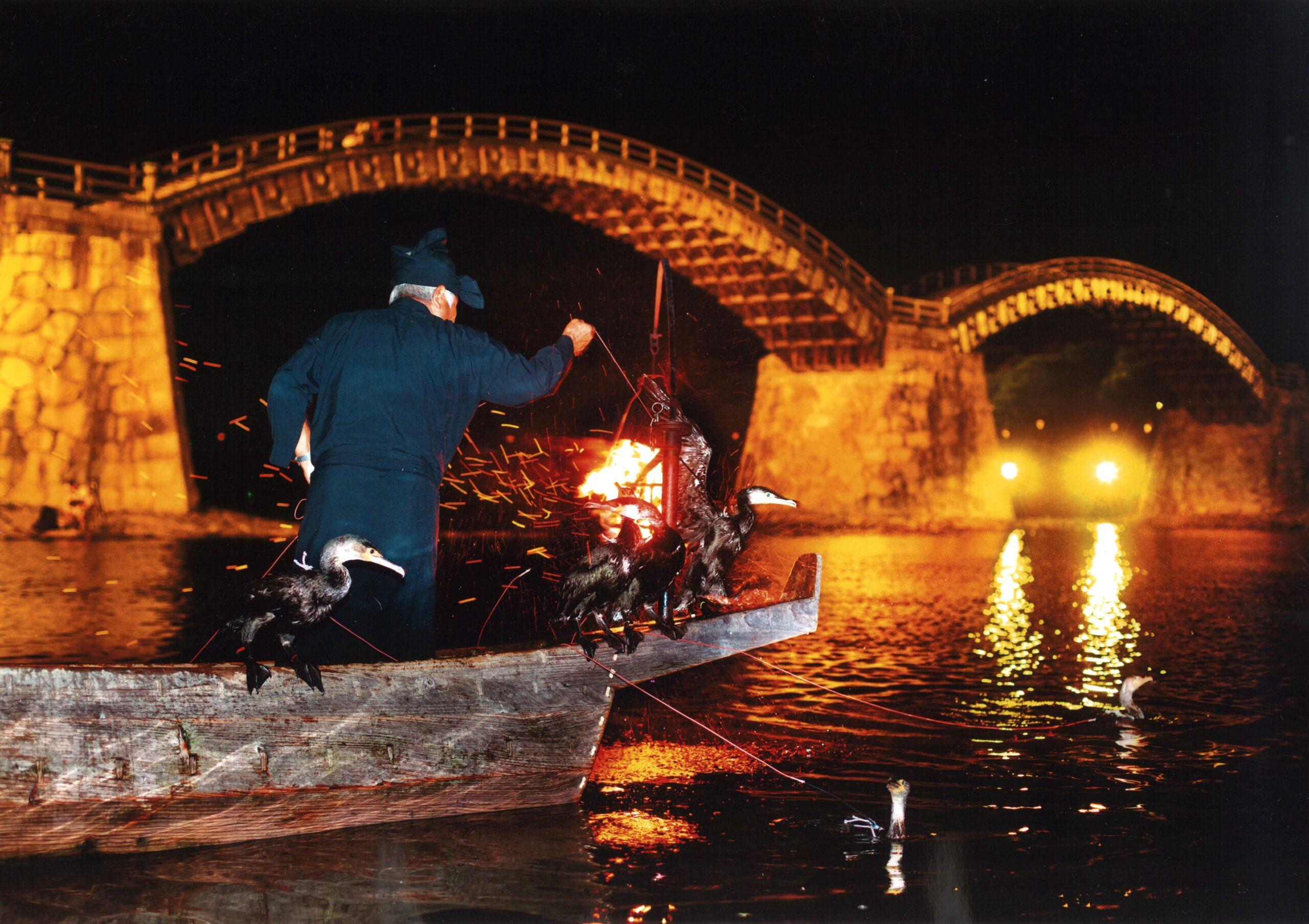 夏の風物詩!山口県の「錦帯橋のう飼」が2021年は7月1日から開催に