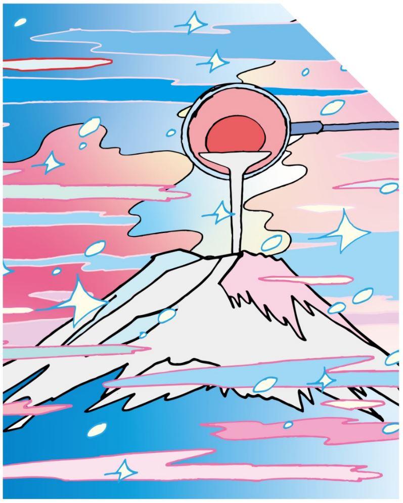 ふじやま温泉、「FUJIYAMA SAUNA」に6/19日リニューアル「サ道」原作者によるタイル画も設置