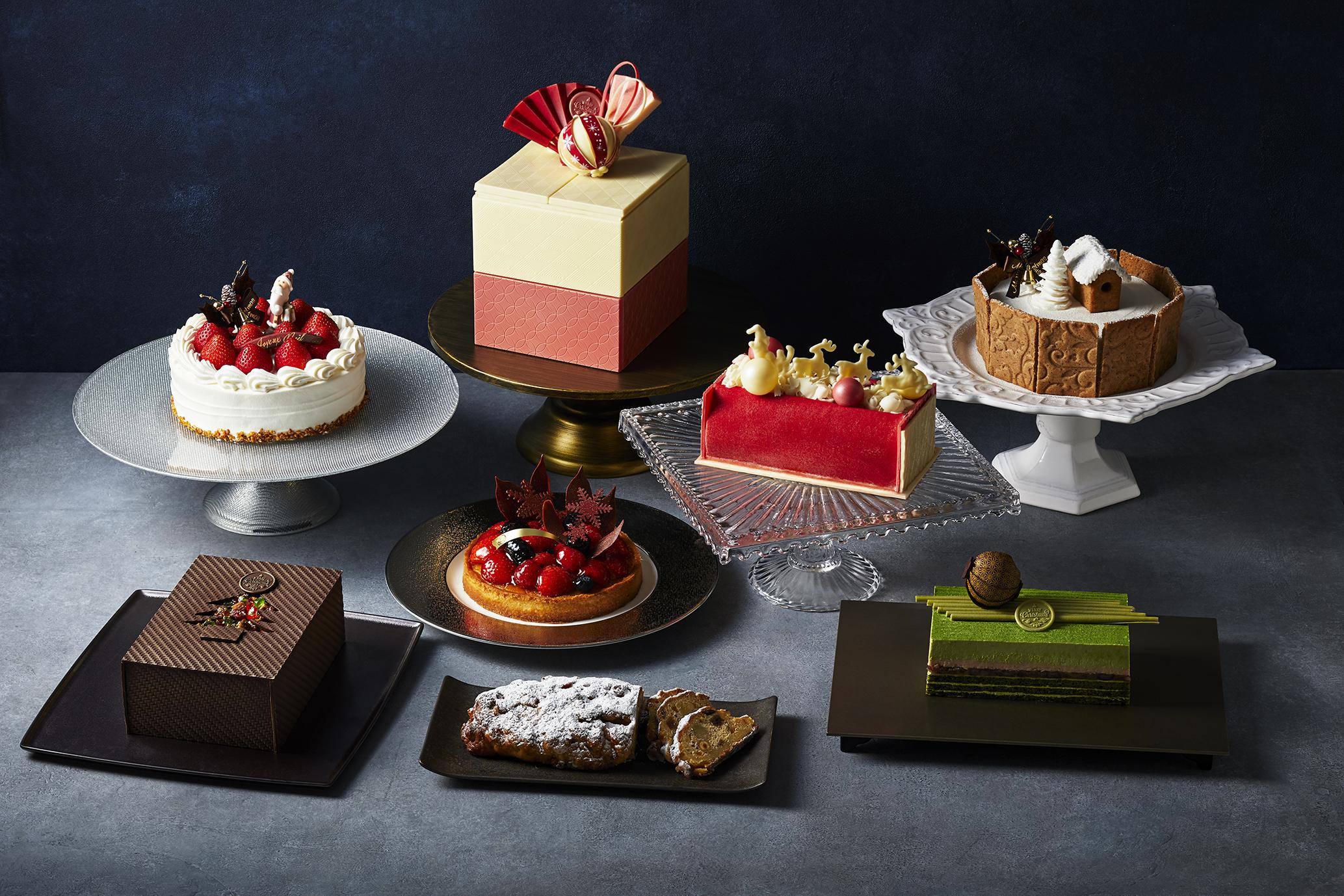 [ホテル雅叙園東京] 2020年のクリスマスケーキ 一挙紹介 10台限定の「玉手箱」も